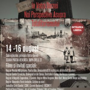 Afis Festival Vatra Dornei august 2015